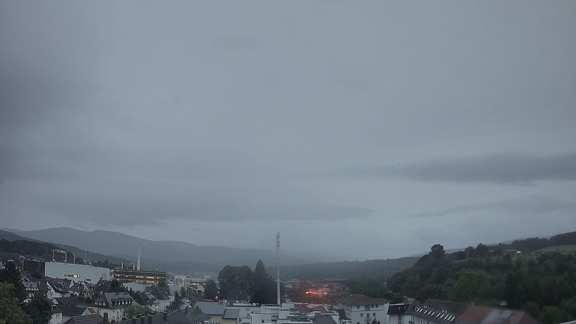 Blick vom Rathaus Richtung Murgtal